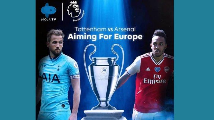 Live Streaming Liga Inggris Tottenham Vs Arsenal Main Malam Ini Jam 22.30 WIB, Ini Susunan Pemainnya