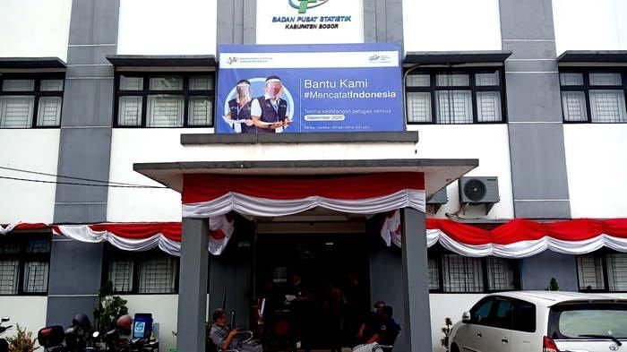 Kantor BPS Kabupaten Bogor di Cibinong