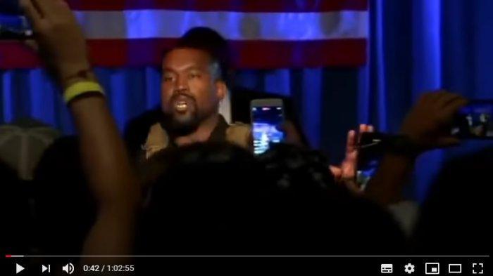 TERUNGKAP Justru Saat Kampaye Pertama Sebagai Capres AS, Kanye West Akui Nyaris Bunuh Anak Pertama