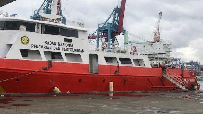 Terkendala Ombak Besar,Kapal Basarnas Batal Gelar Operasi SAR Sriwijaya Air SJ-182