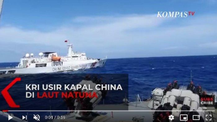Kapal Coast Guard China Diusir Bakamla dari ZEE Indonesia, Awak Kapal Klaim Patroli di Wilayah China