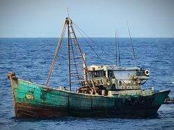 Kapal nelayan asal Vietnam ditangkap di wilayah Perairan Zona Ekonomi Eksklusif (ZEE) Indonesia di Laut Natuna Utara, Sabtu (29/8/2020).
