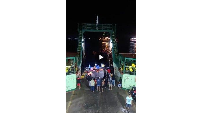 BREAKING NEWS: Kapal Penyeberangan Banyuwangi-Gilimanuk Tenggelam di Perairan Selat Bali