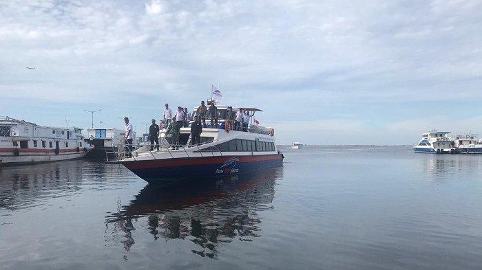 Moda Transportasi Wisatawan ke Pulau Seribu Bertambah, Kapal Trans 1000 Bakal Beroperasi