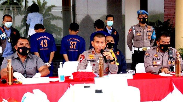 Kapolda Banten Irjen Pol Fiandar.