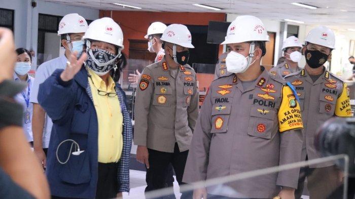 Kapolda Tinjau Kawasan Tangguh Jaya PT Bogasari, Apresiasi Alat Pendeteksi Orang Tak pakai Masker