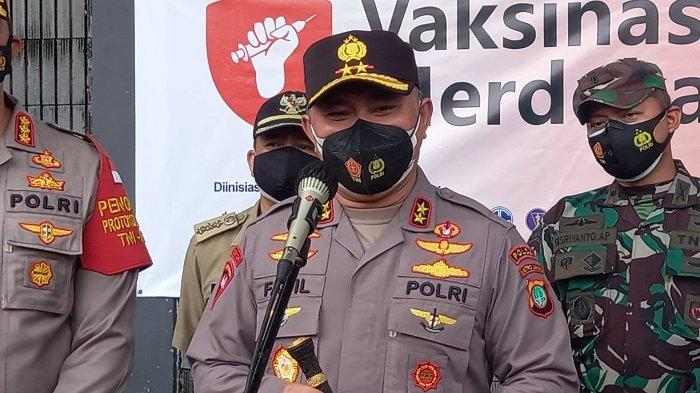 Dokumentasi Kapolda Metro Jaya Irjen Fadil Imran. Hari ini dia menyebut dugaan penyebab kebakaran di lapas kelas 1 Tangerang karena korsleting listrik.