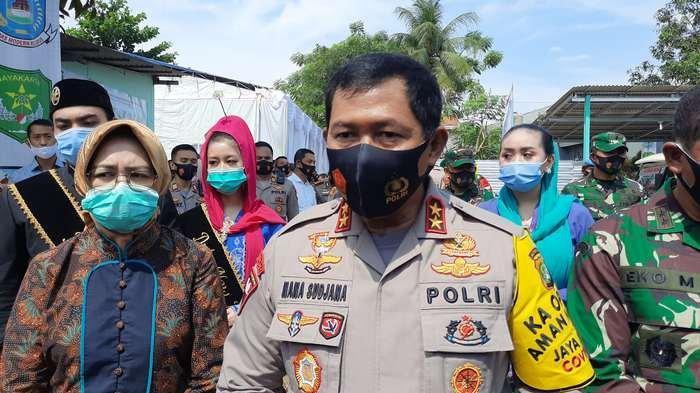 Resmikan Kampung Jawara Kota Tangsel, Kapolda Metro Jaya: Solusi Masyarakat di Tengah Covid-19