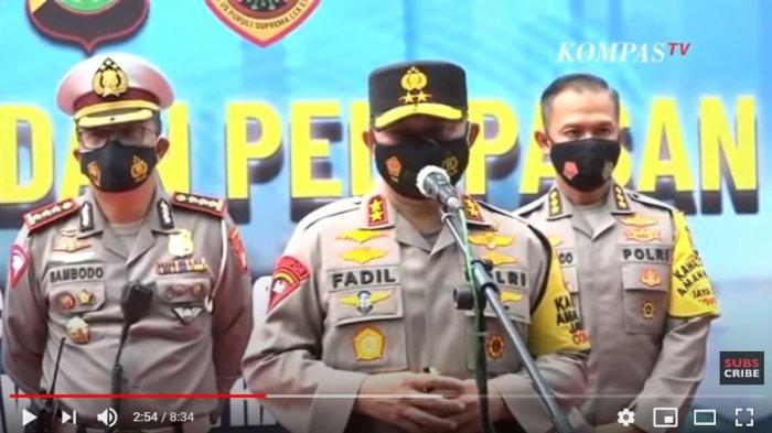 Kapolda Metro Jaya Irjen Pol Fadli Imran menyampai tak dikeluarkannya izin keramaian aksi 1812 karena Jakarta belum aman covid-19