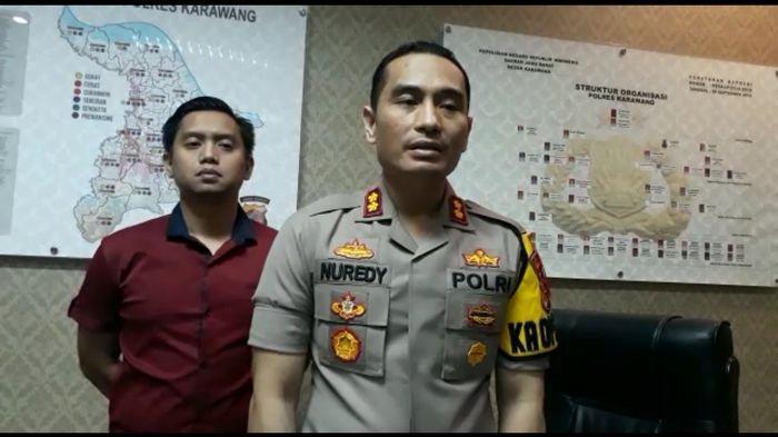 Tiga Emak-emak Ujaran Kebencian ke Jokowi Ditahan di Polres Karawang