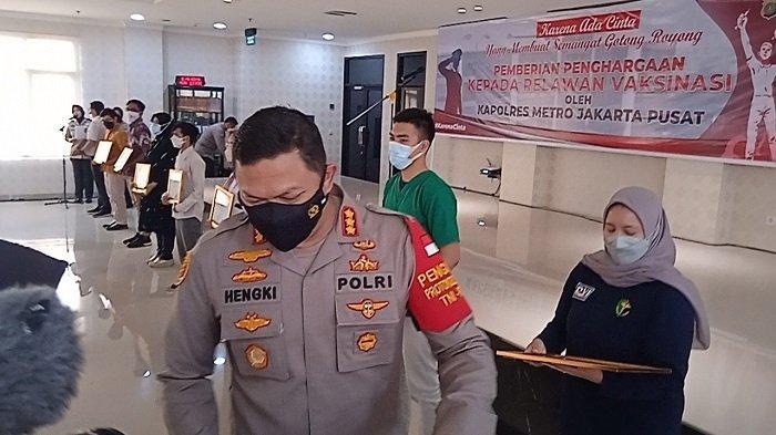 Kapolres Metro Jakpus: Sentra Vaksinasi Tidak Efektif, yang Divaksin Banyak Orang Luar Jakarta