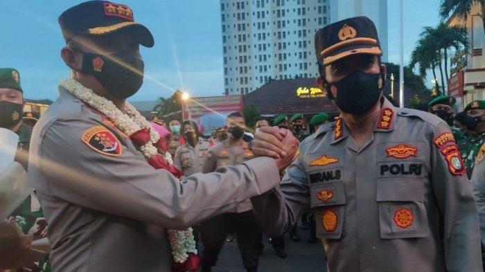Kapolres Metro Depok Kombes Pol Imran Edwin Siregar Tidak Begadang Sebelum Disuntik Vaksin Covid-19