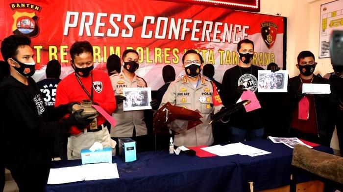 Polisi Tetapkan 9 Tersangka Terkait Aksi Demo Ricuh di Tangerang, 5 Tersangka Melawan Petugas