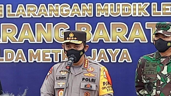 Kapolri Jenderal Listyo Sigit Prabowo: Kebijakan Penyekatan Tekan 70 Persen Pemudik