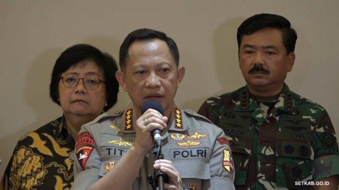 Baru 5 Bulan Menjabat, Kapolda Papua & 2 Kapolda Lainnya Dicopot Kapolri Jenderal Tito Karnavian