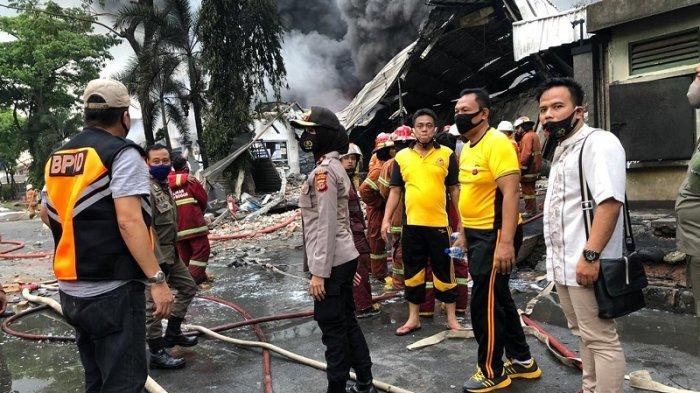 PT Interplex Perdana Indonesia Terbakar, Ini yang Dilakukan Kapolsek Babakan Madang