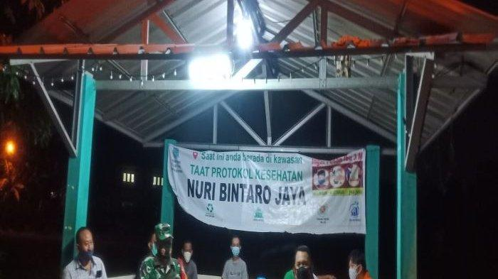 Kapolsek Ciputat Timur Bersama Danramil 05/Ciputat Ronda Bareng Warga Kampung Tangguh Jaya