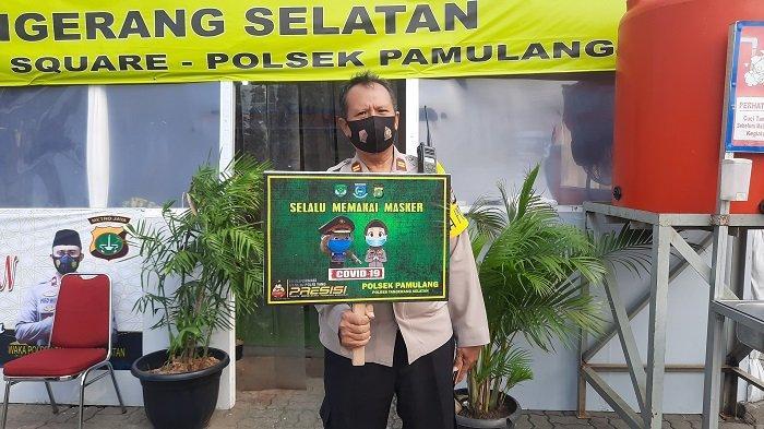 Posko Pengamanan Operasi Ketupat Jaya 2021 Pamulang Square, Kota Tangsel Beroperasi Selama 24 Jam