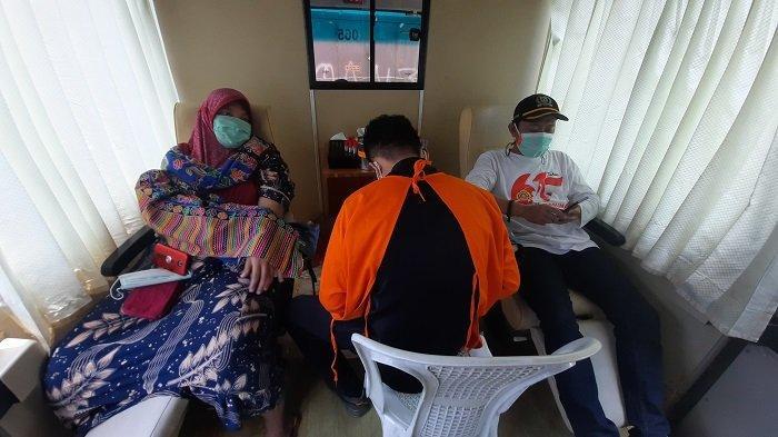 Rayakan HUT ke-61, Karang Taruna Menggelar Kegiatan Donor Darah di Sawah Besar, Minggu (26/9/2021)
