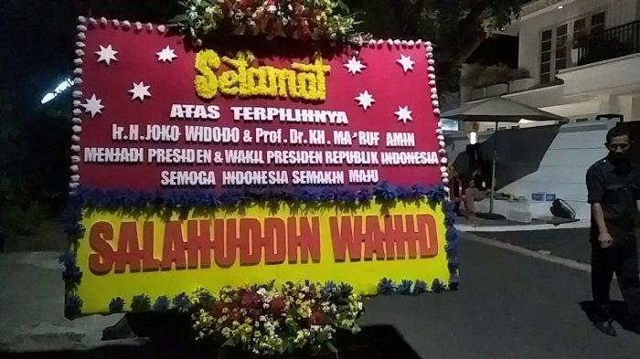 VIDEO: Gus Sholah Kirim Karangan Bunga ke Rumah KH Maruf Amin