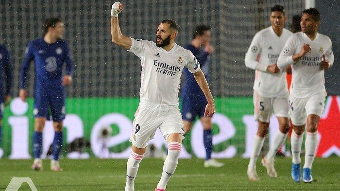 Prediksi Line Up dan Live Streaming Granada vs Real Madrid, Hazard, Vinicius dan Benzema Starter