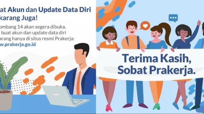 Hari Ini Pendaftaran Kartu Prakerja Gelombang 14 Resmi Dibuka Langsung Login ke Prakerja.go.id