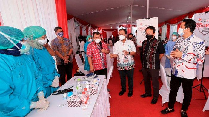 FOTO : Anggota Komisi XI DPR RI Kamrussamad Minta Percepat Vaksinasi Frontline Perbankan