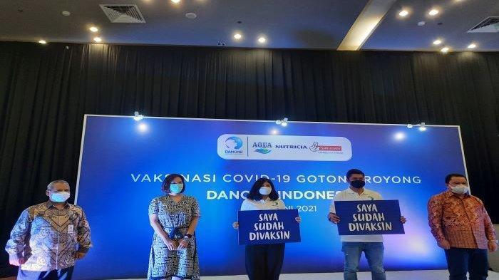 Pengakuan Karyawan Danone Indonesia Setelah Disuntik Vaksin Sinopharm di Bogor, Tak Disangka