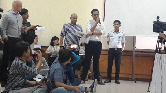 Dua Karyawan Lion Air Datang ke Konferensi Pers KNKT, Ini yang Dilakukan Mereka