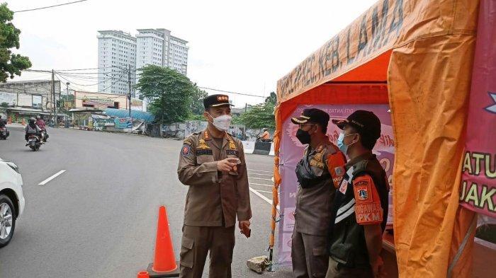 Cegah Warga Mudik Lebaran, Satpol PP Jaksel Jaga Dua titik Check Point Selama 24 Jam
