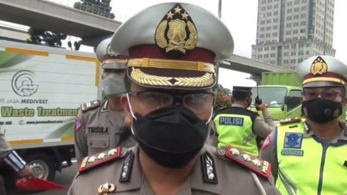 Truk Brimob Rombongan Peserta Vaksinasi Alami Kecelakaan di Jalan Tol Dalam Kota, 6 Orang Terluka