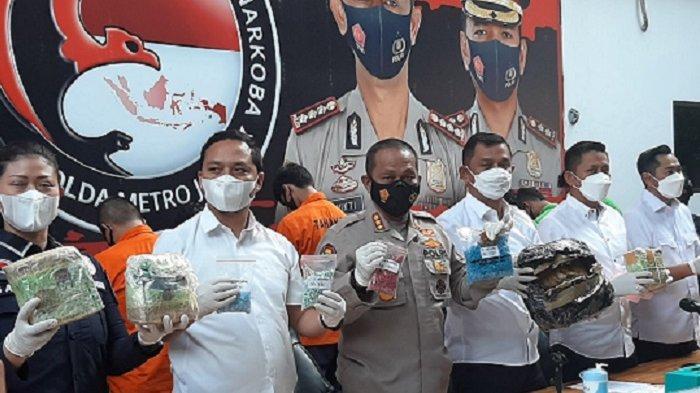 Pengedar Narkoba 3.000 Gram Ganja Siap Edar di Tanjung Priok Dibekuk