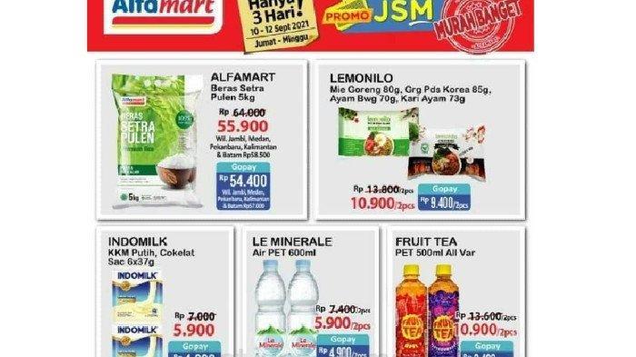 Katalog Promo JSM Alfamart 10-12 September Harga Hemat Mi Instan, Beras, Susu, Snack dll