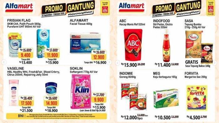 Katalog Promo Alfamart 26 September 1 Oktober Diskon Sabun Cuci Beras Sabun Mandi Hingga Snack Warta Kota