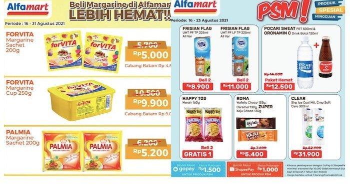 Katalog Promo Alfamart PSM 24-31 Agustus Dapatkan Harga Hemat Mentega, Bumbu, Es Krim dll