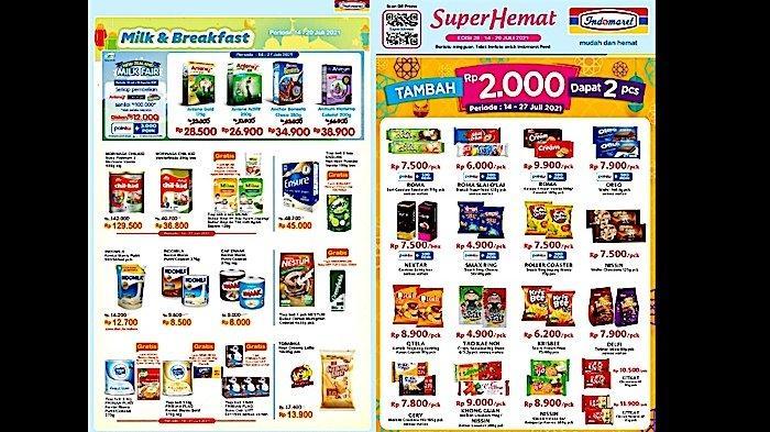 KATALOG PROMO Indomaret 14-20 Juli, Harga Hemat Aneka Susu, Vitamin, Snack, Bumbu Dapur dll