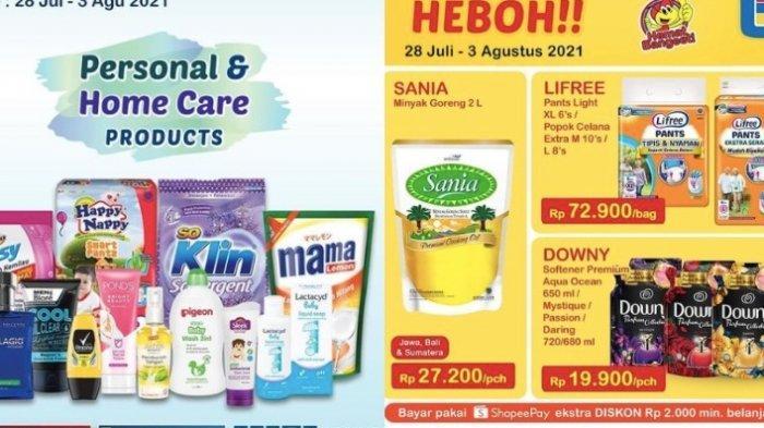 Katalog Promo Indomaret Kamis 29 Juli, Harga Murah Sania Minyak Goreng, Susu Anak, Snack dll