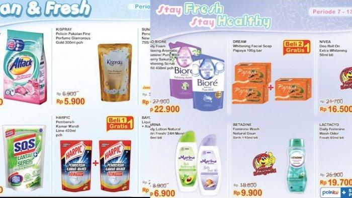 KATALOG Promo Indomaret 7-13 Juli Dapatkan Harga Hemat Susu, Popok, Aneka Snack, Kecantikan dll