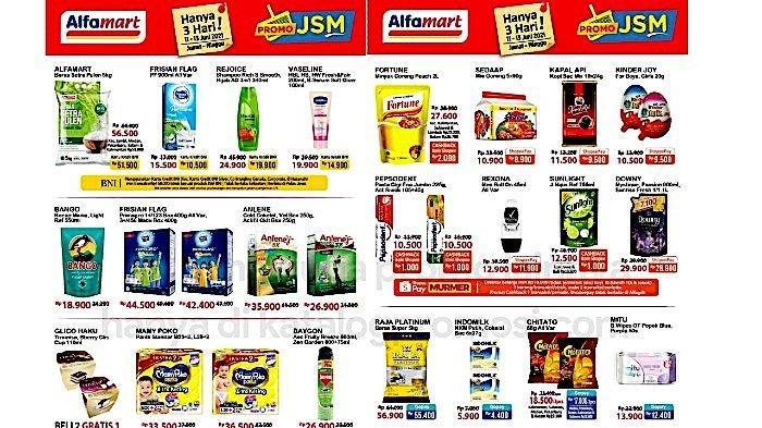 PROMO JSM Alfamart 11-13 Juni Murah Meriah Beras, Minyak, Susu Cair, Snack, Pampers