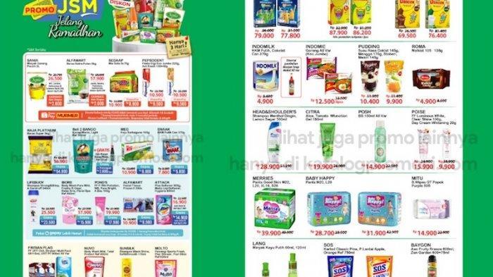 PROMO JSM Alfamart 9-11 April, Dapatkan Diskon dari Beras, Kurma, Snack, Sirup untuk Ramadhan