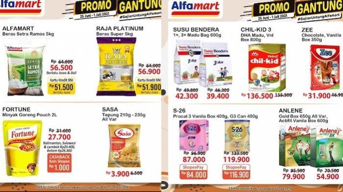 KATALOG Promo JSM Alfamart dan Promo Gantung 25 Juni-1 Juli, Diskon Minyak, Susu, Mentega dll
