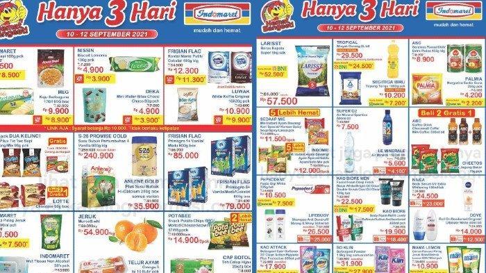 Katalog Promo JSM Indomaret Jumat 10 September Harga Murah Beras, Minyak Goreng dll