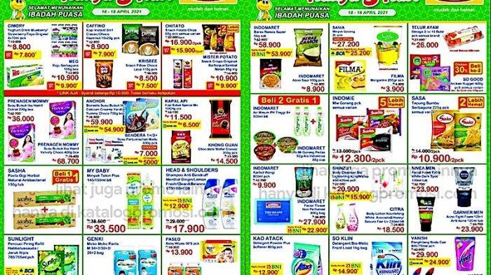 Katalog Promo JSM Indomaret 16-19 April Harga Hemat untuk Beras, Minyak Goreng, Popok