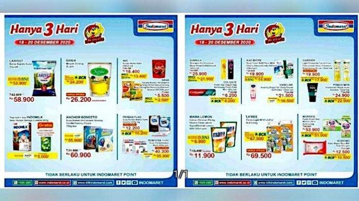 Katalog Promo JSM Indomaret 18-20 Desember Dapatkan Diskon Beras, Minyak Goreng, Susu Anak