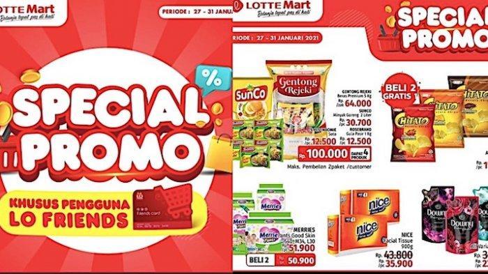 Katalog Promo Lottemart 28-31 Januari Dapatkan Aneka Diskon Hingga Paket Murah Sembako