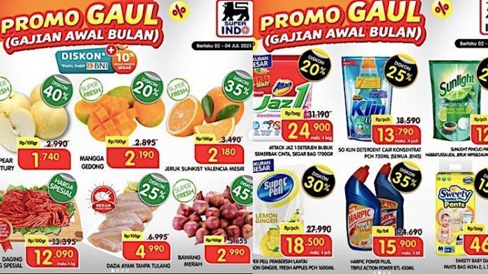 KATALOG Promo Superindo 2-4 Juli Dapatkan Diskon Hingga 45 Persen, Buah, Ayam, Popok dll