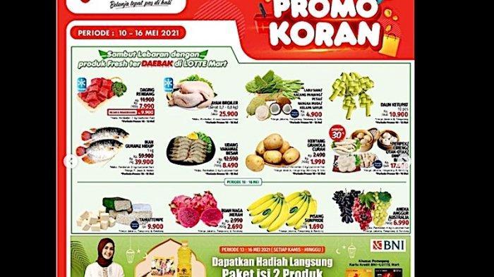 Katalog Promo LotteMart kebutuhan lebaran 10-16 Mei 2021