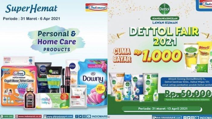 PROMO INDOMARET Rabu 31 Maret Harga Murah Minyak Goreng, Susu Anak dan Kebutuhan Lainnya