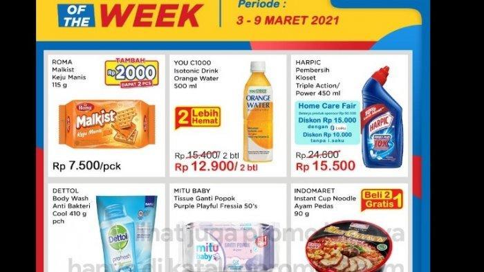Promo Indomaret Product of The Week Hemat Beli 2 Gratis 1 dari Minyak, Snack, Beras, Kopi