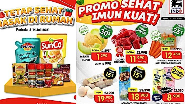 Katalog Promo Superindo 13 Juli, Diskon Minyak Sunco, Aneka Bumbu, Camilan Sehat, Vitamin